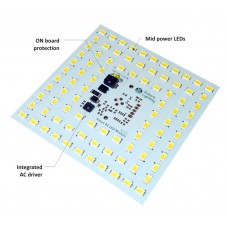 AC LED module 230VAC, 12W, 4000K, CRI >80, sample