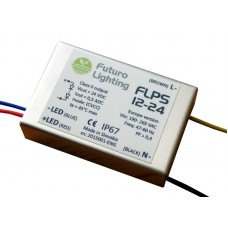 FLPS12-24, 12 W / 24 VDC CVCC power supply in size of a matchbox