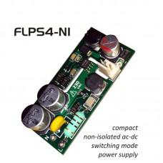 FLPS4-NI-12, 4 W / 12 VDC CV non isolated compact power supply